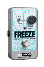 Electro Harmonix Freeze Sound Retainer Guitar Pedal Stomp Box